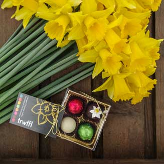 Mail order daffodils and truffles