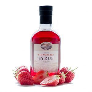 Brooksgrove Farm strawberry-syrup